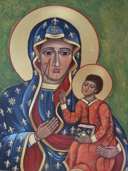 Our Lady of Czestochowa (also called Black Madonna of Poland and Our Lady of Jasna Gora)